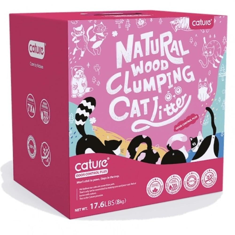Cature Πέλλετ Γάτας Βιοδιασπώμενο με Ενεργό Άνθρακα Odor Control 20L
