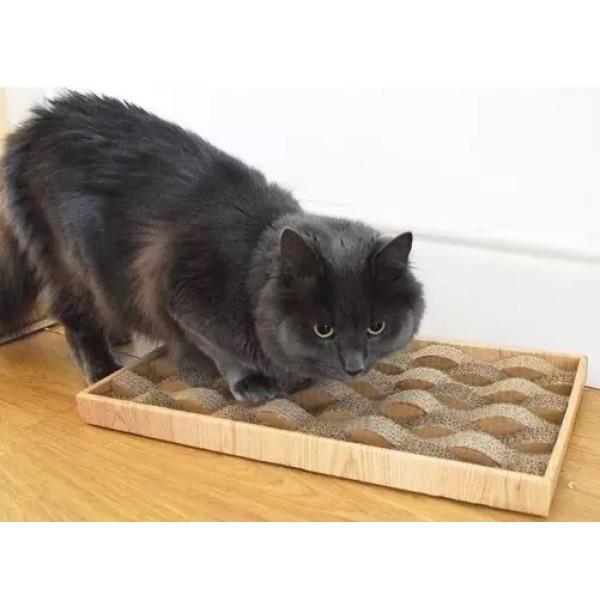Διαδραστικό Παιχνίδι Γάτας-Ονυχοδρόμιο Tidal Cat Scratcher