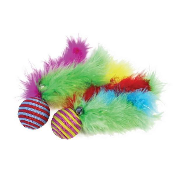 Παιχνίδι Γάτας Carnival Ball 2pcs
