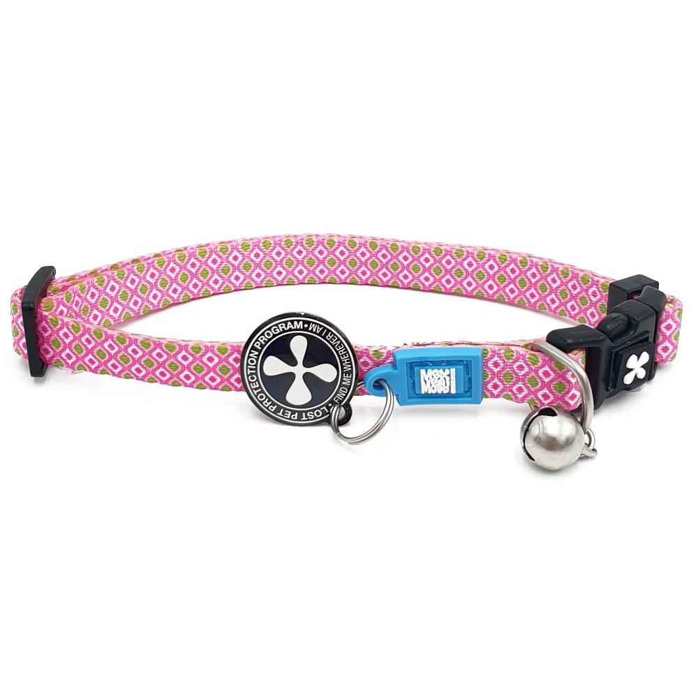 Περιλαίμιο Γάτας Max & Molly Retro Pink