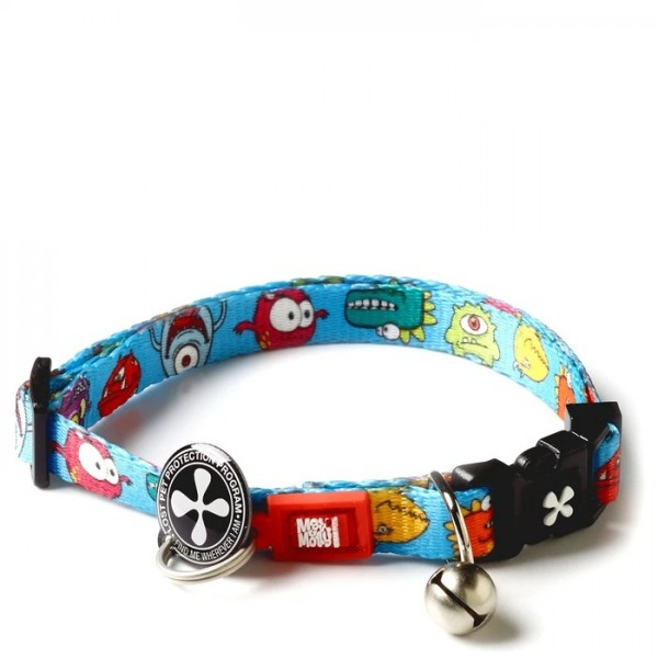 Περιλαίμιο Γάτας Max & Molly Little Monsters