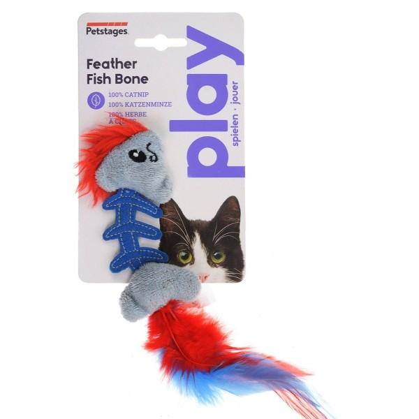 Παιχνίδι Γάτας Feather Fish Bone