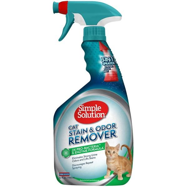 Spray Απομάκρυνσης και Καταπολέμησης Λεκέδων - Οσμών για Γάτες 750ml