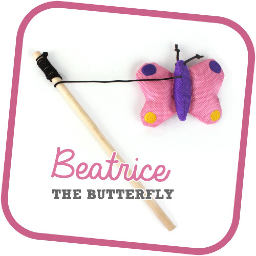 Beatrice the Butterfly - Παιχνίδι Γάτας Beco Family
