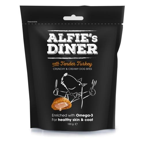 Λιχουδιές Σκύλου Alfie's Diner με Τρυφερή Γαλοπούλα 100g