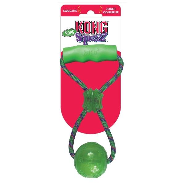 Παιχνίδι Σκύλου Kong Squeezz Ball with Handle