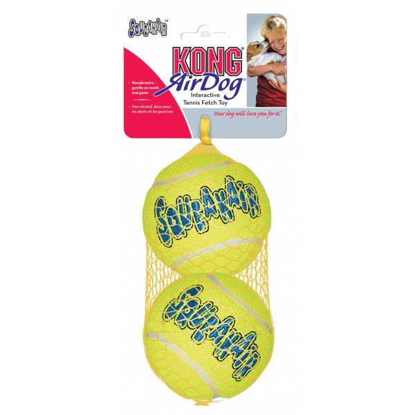 Παιχνίδι Σκύλου KONG Air Squeaker Tennis Ball Set of 2