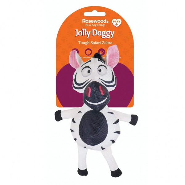 Παιχνίδι Σκύλου Jolly Doggy Tough Safari Zebra