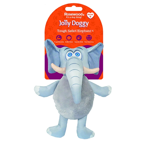 Παιχνίδι Σκύλου Jolly Doggy Tough Safari Elephant