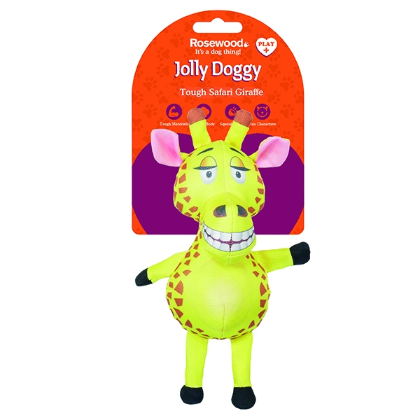 Παιχνίδι Σκύλου Jolly Doggy Tough Safari Giraffe