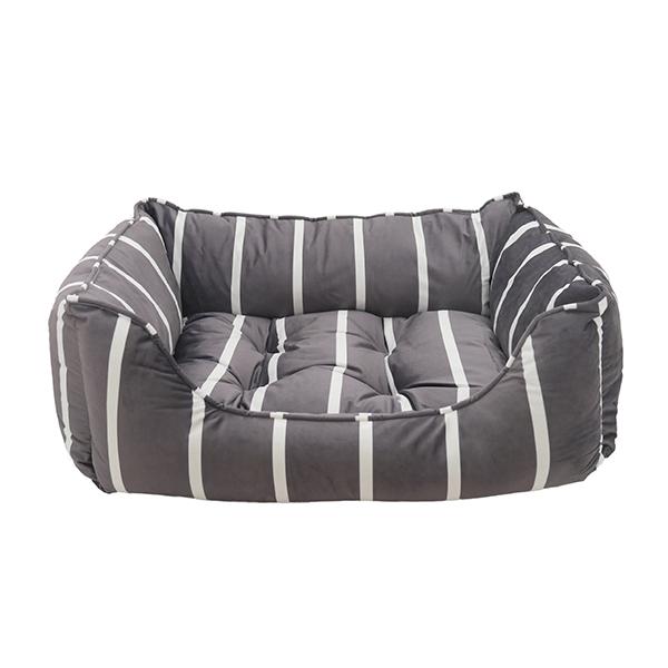 Κρεβάτι Σκύλου 40 Winks Grey Velvet Square