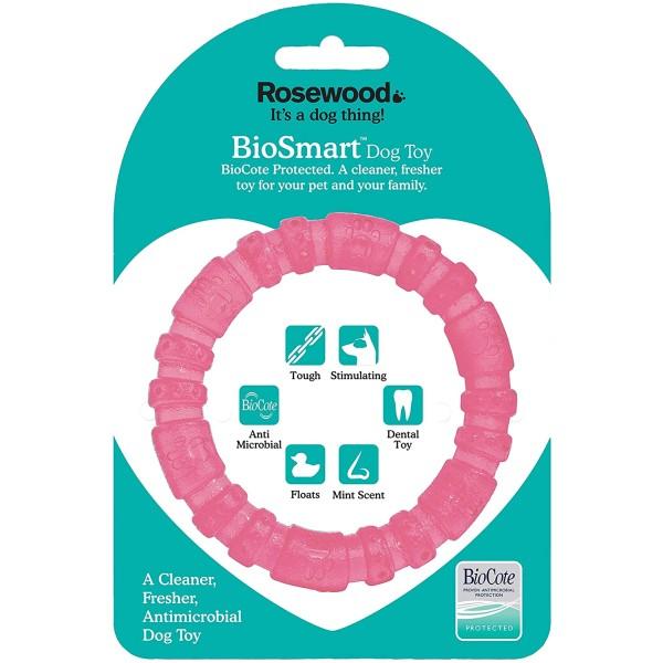 Παιχνίδι για Κουτάβια Αντιμικροβιακό - Biosafe Puppy Pink Ring