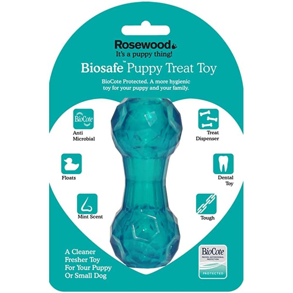 Παιχνίδι για Κουτάβια Αντιμικροβιακό - Biosafe Puppy Blue Bone