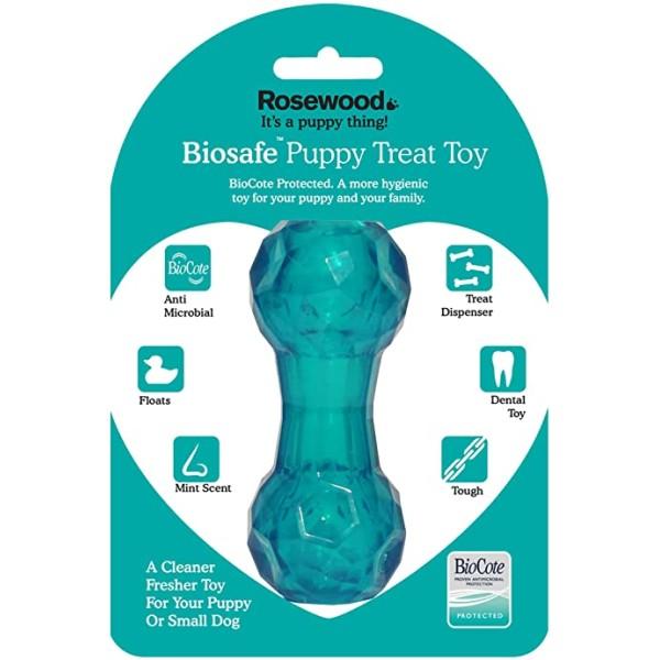 Παιχνίδι για Κουτάβια Αντιμικροβιακό - Biosafe Puppy Blue Dumbell
