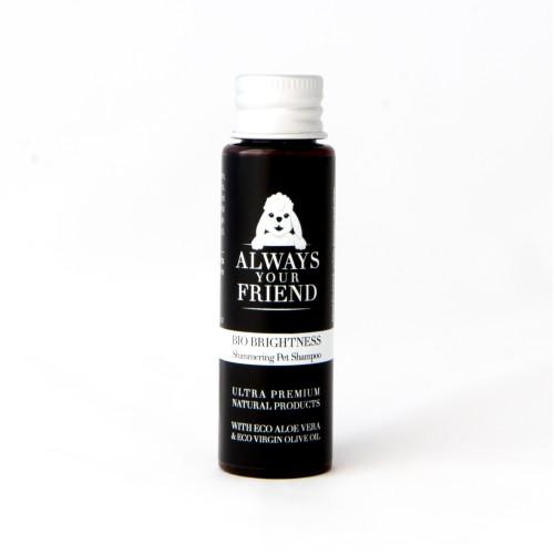 Βιολογικό Σαμπουάν Ταξιδίου για Λαμπερό Τρίχωμα Organic Brightness Shampoo 30ml