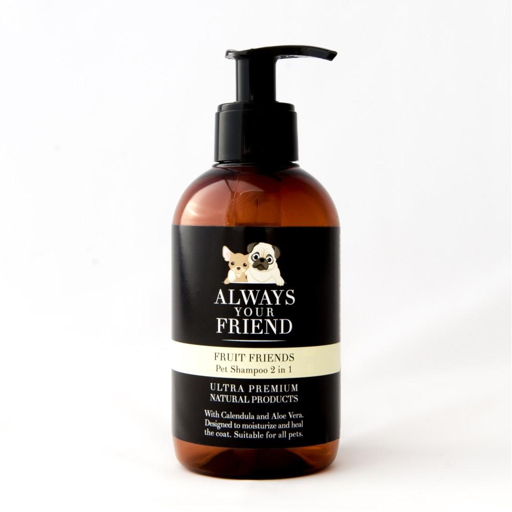 Βιολογικό Σαμπουάν Κατοικιδίου με Άρωμα Φρούτων Fruit Friends Shampoo 2 in 1