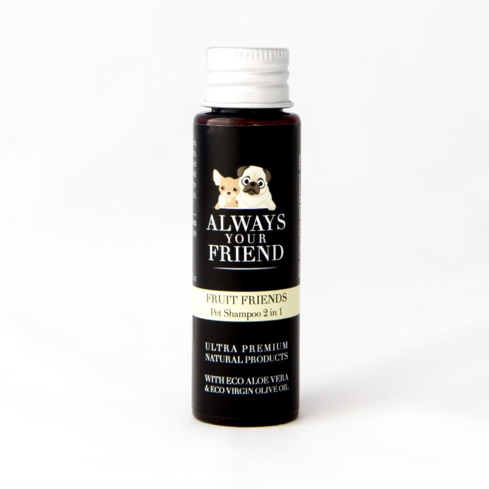 Βιολογικό Σαμπουάν Ταξιδίου με Άρωμα Φρούτων Fruit Friends Shampoo 30ml