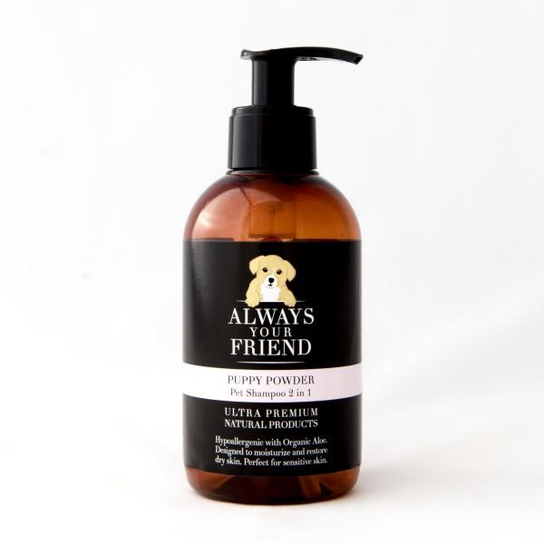 Βιολογικό Σαμπουάν Κατοικιδίου για Κουτάβια Puppy Powder Shampoo 2 in 1
