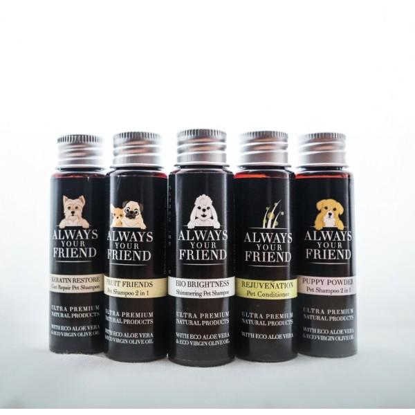 Βιολογικό Σαμπουάν Ταξιδίου για Κουτάβια Puppy Powder Shampoo 30ml