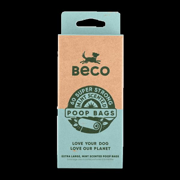 Beco Αρωματικά Ανταλλακτικά Σακουλάκια Ακαθαρσιών με Μέντα - Travel Pack 60 bags