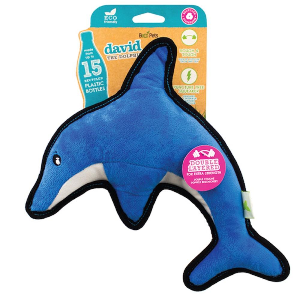 Ανακυκλωμένο Παιχνίδι Σκύλου Beco Dolphin