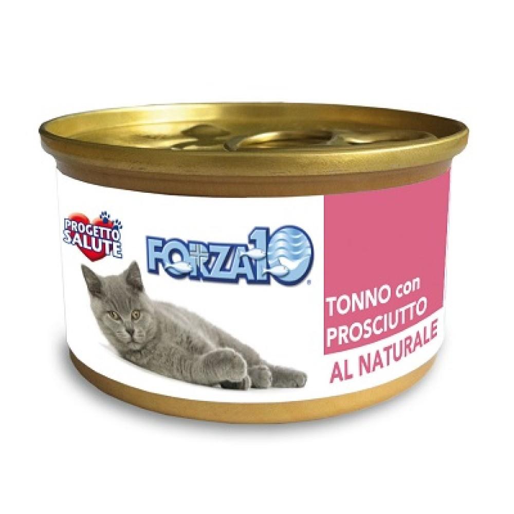 Forza10 Al Natural Κονσέρβα Γάτας Τόνος - Προσούτο