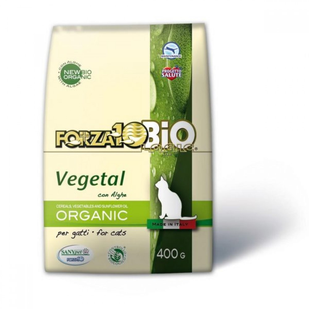 Forza10 Vegetal Bio Adult με Άλγη για Γάτες