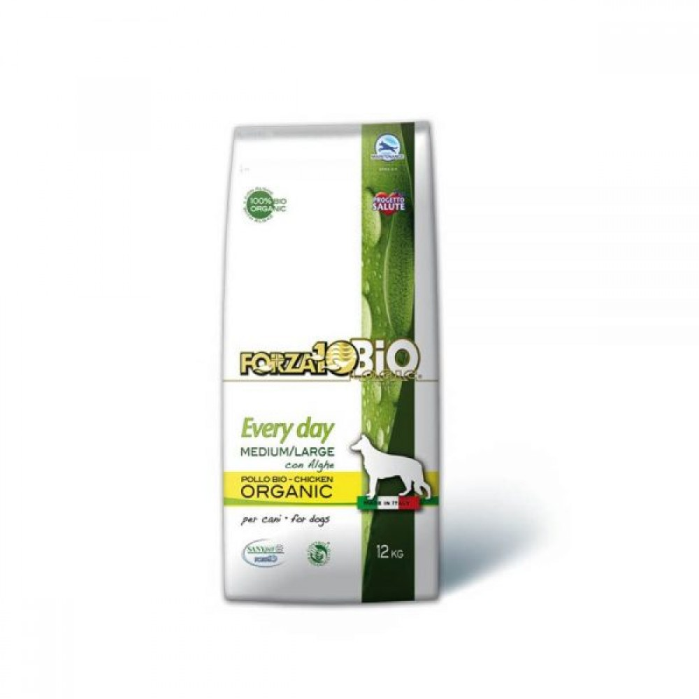 Forza10 Every Day Bio Line Medium / Large Κοτόπουλο και Άλγη