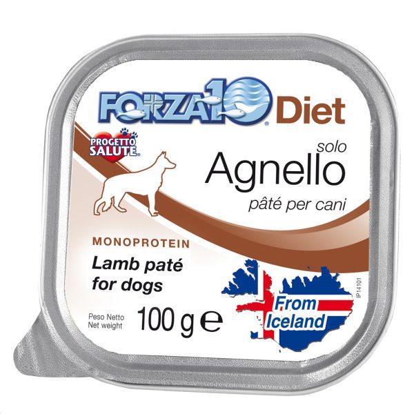 Forza10 Solo Diet Πατέ με Αρνί, χωρίς γλουτένη