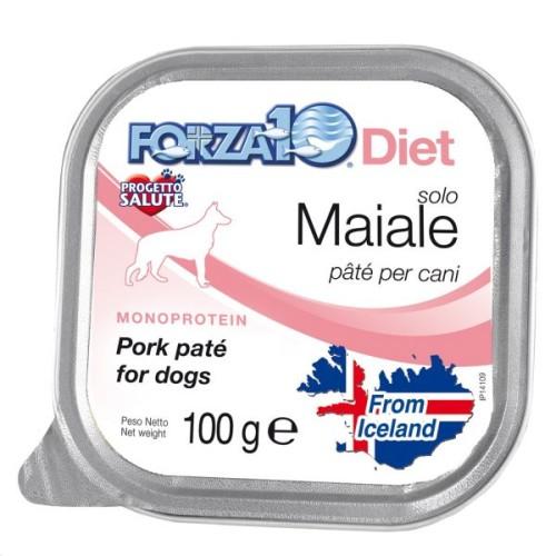 Forza10 Solo Diet Πατέ με Χοιρινό, χωρίς γλουτένη