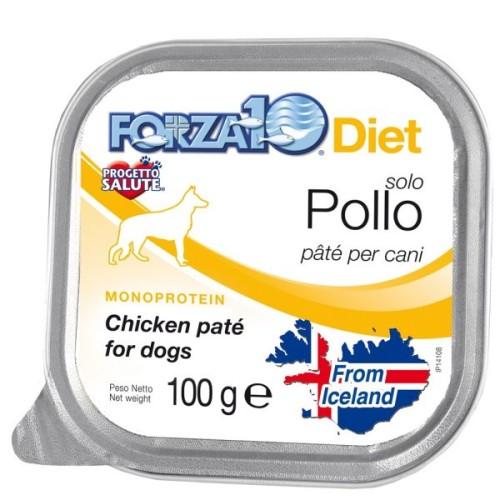 Forza10 Solo Diet Πατέ με Κοτόπουλο, χωρίς γλουτένη