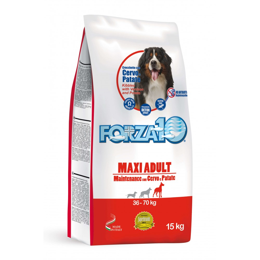 Forza10 Maxi Adult Mainteance Ελάφι και Πατάτα