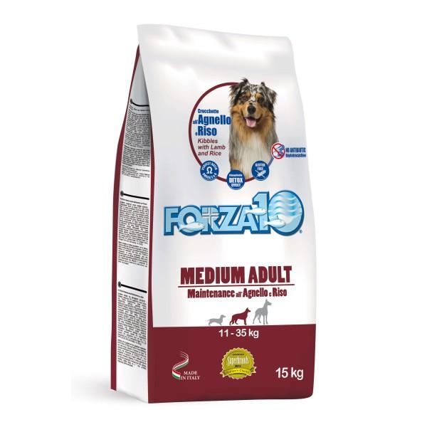 Forza10 Medium Adult Maintenance Αρνί και Ρύζι