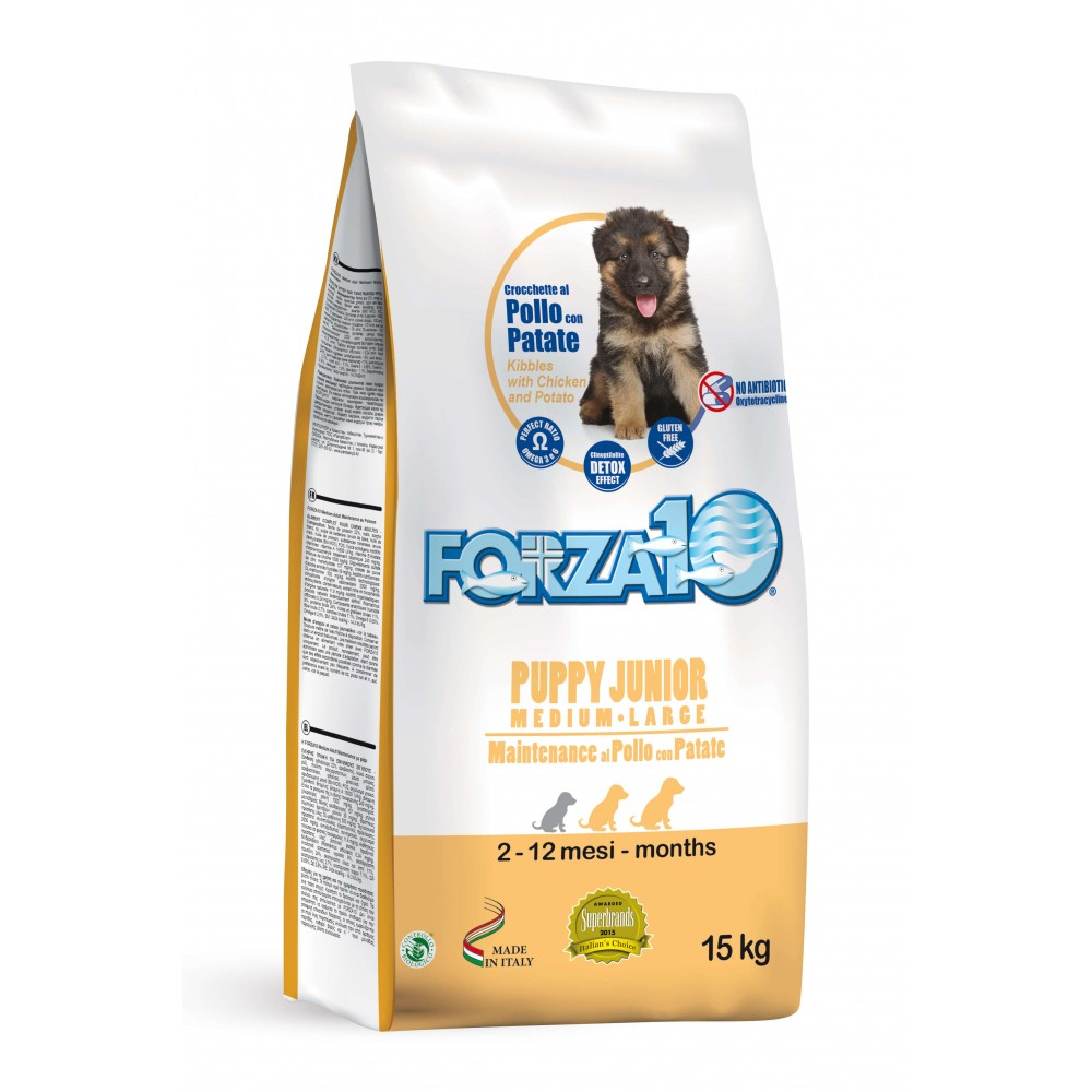 Forza10 Puppy Junior Maintenance Κοτόπουλο και Πατάτα Medium / Large