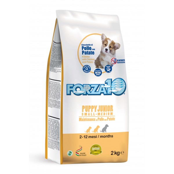 Forza10 Puppy Junior Maintenance Κοτόπουλο και Πατάτα Small /  Medium