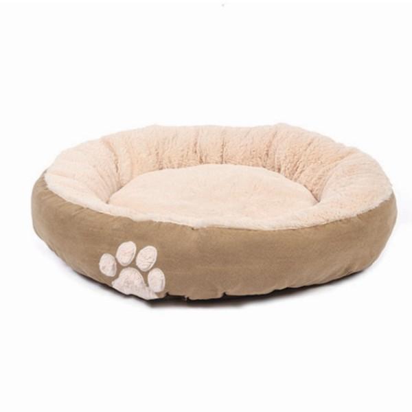 Κρεβάτι Σκύλου Hugs Round Bed Stone