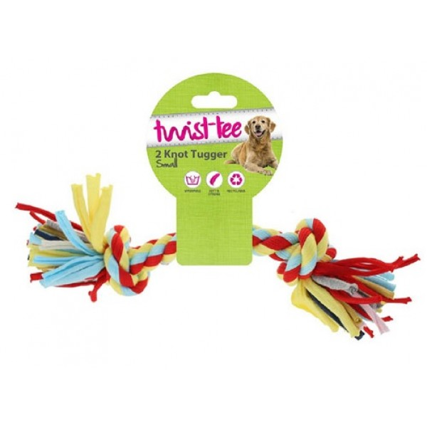 Παιχνίδι Σκύλου Twist Tee 2 Knot Tugger