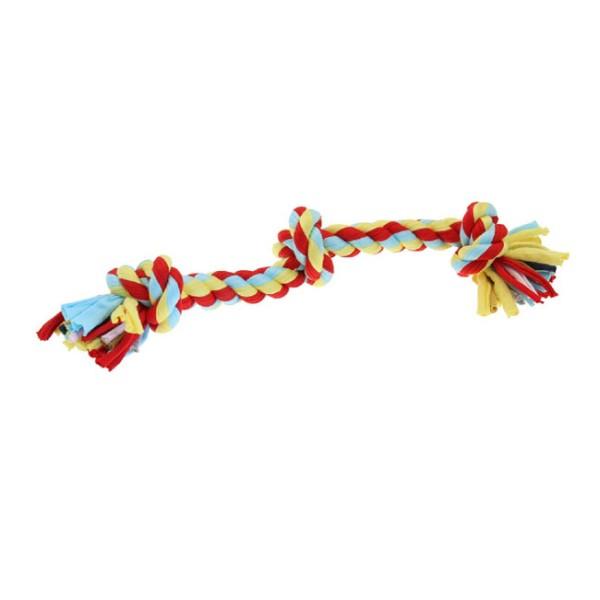 Παιχνίδι Σκύλου Twist-Tee 3 Knot Tugger