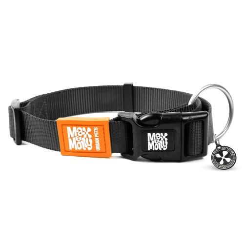 Περιλαίμιο Σκύλου Max & Molly Pure Black