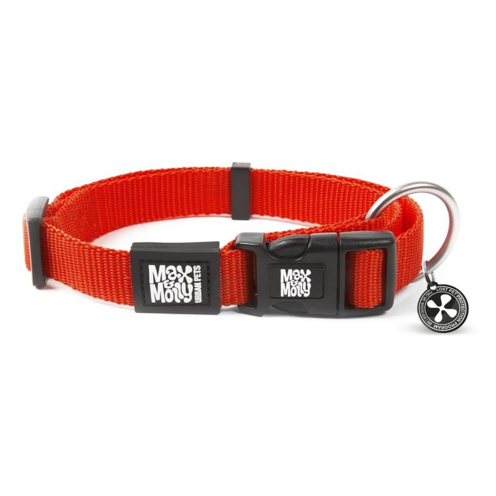 Περιλαίμιο Σκύλου Max & Molly Pure Red