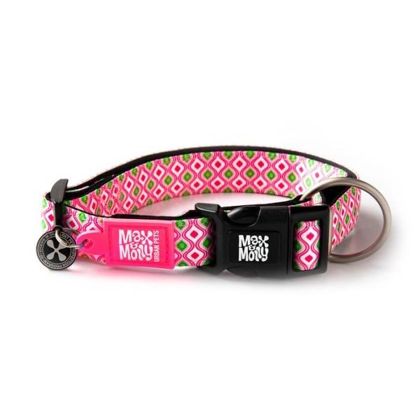 Περιλαίμιο Σκύλου Max & Molly Retro Pink