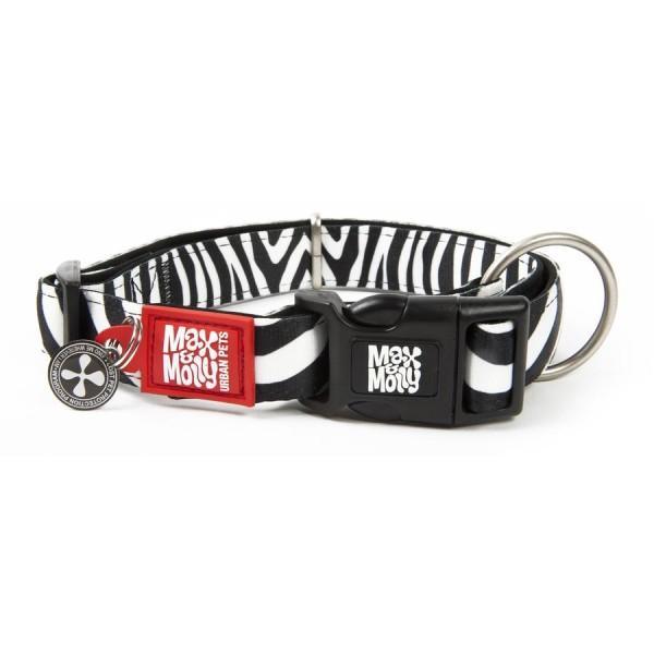 Περιλαίμιο Σκύλου Max & Molly Zebra
