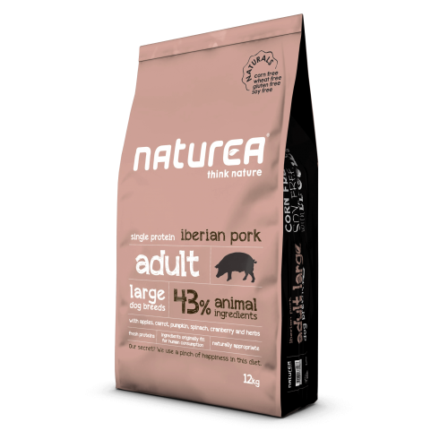Naturea - Naturals Adult Large Breed Ιβηρικό Χοιρινό