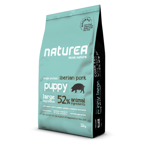 Naturea - Naturals για Κουτάβια Puppy Large Breed Ιβηρικό Χοιρινό