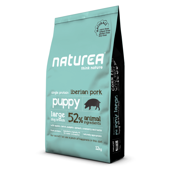 Naturea - Naturals για Κουτάβια Puppy Large Breed Ιβηρικό Χοιρινό