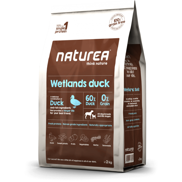 Naturea Grain Free Wetlands Duck