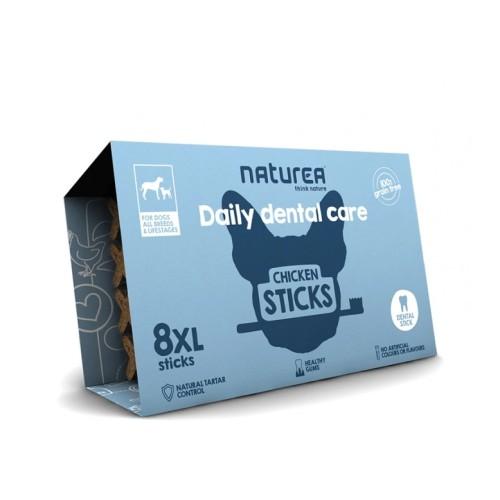 Naturea Dental Sticks Σκύλου Κοτόπουλο 100gr