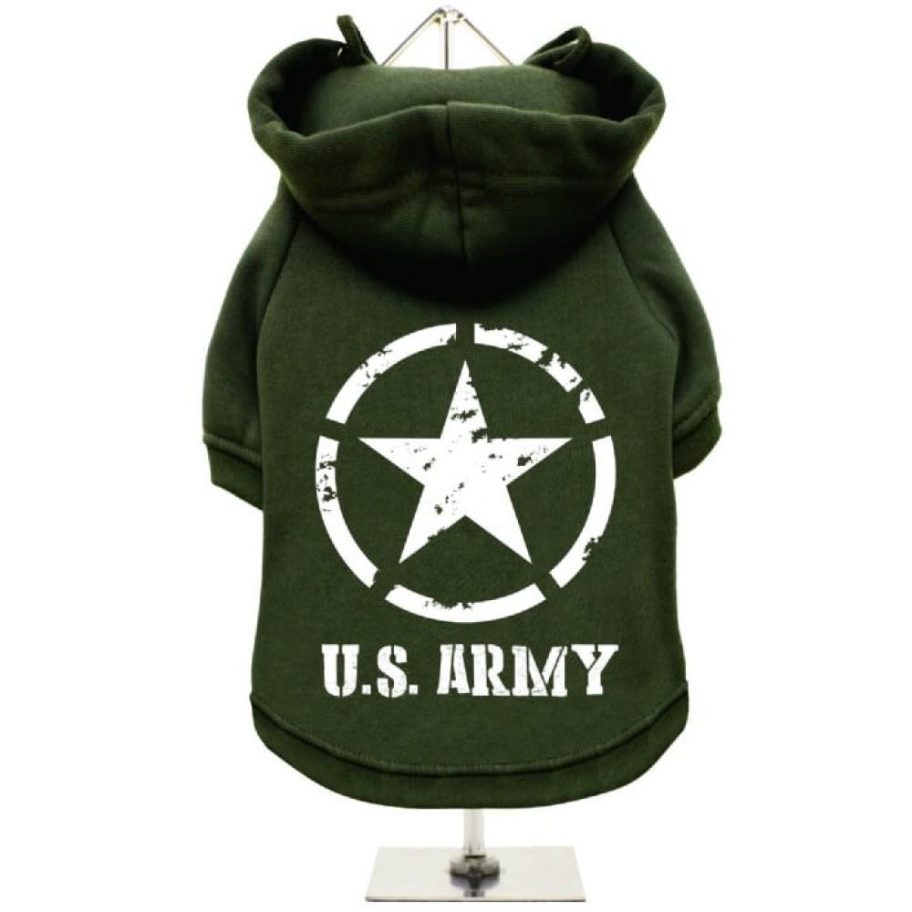 Πράσινο Φούτερ για Σκύλους U.S. Army