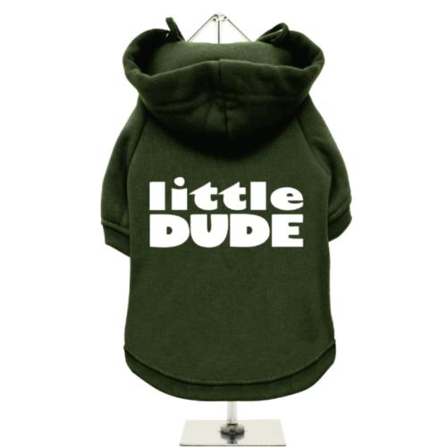 Πράσινο Φούτερ για Σκύλους Little Dude
