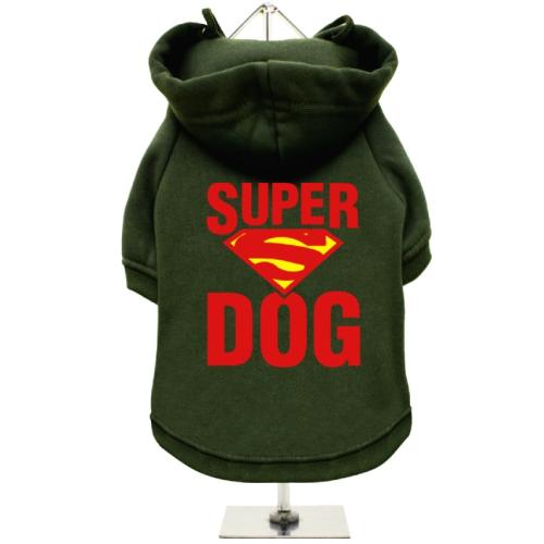 Πράσινο Φούτερ για Σκύλους Super Dog